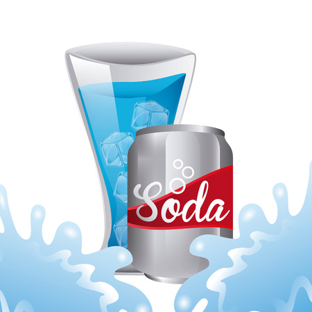 soda splash: fresh soda design