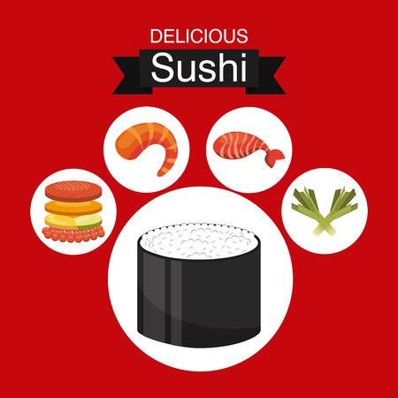 Japans voedsel ontwerp