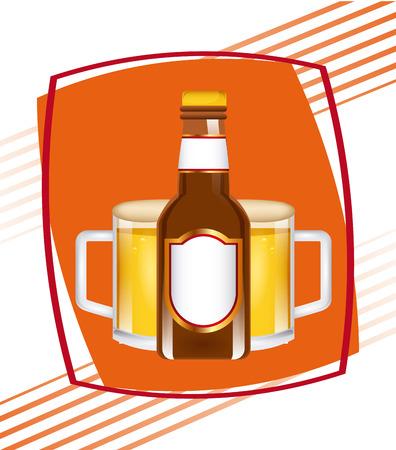 cold beer: cold beer design