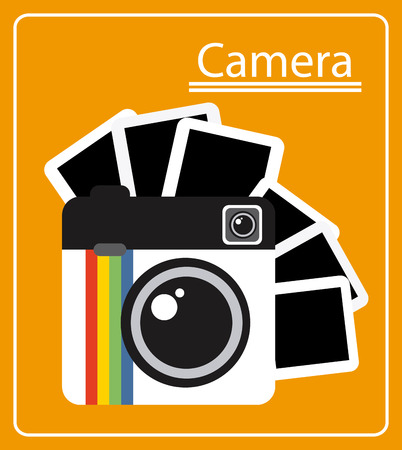 photography: photography Konzept-Design, Vektor-Illustration eps10 Grafik