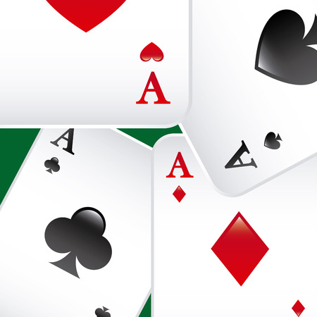 jack of hearts: poker game  design, vector illustration