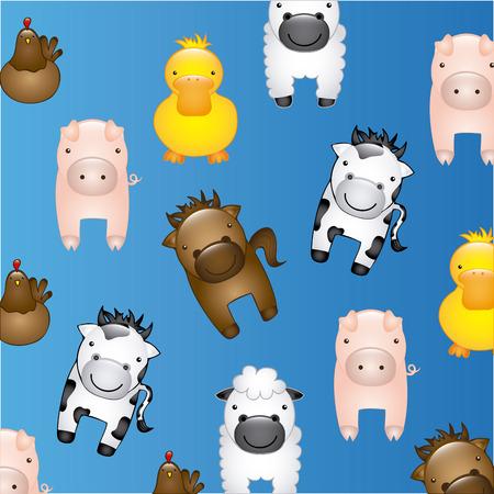 farm animals design,   Vector