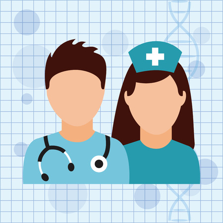 doctor icon: medical care design