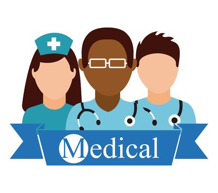assistant: medical healthcare design  Illustration