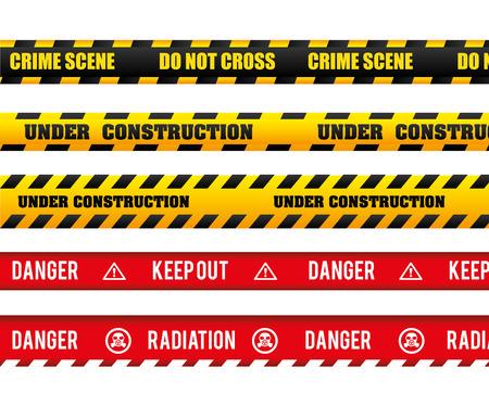 Danger design over white background, vector illustration.