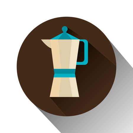 nutriments: Coffee design over white background, vector illustration.