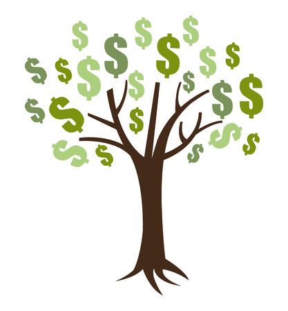 protect money: Money design over white background ,vector illustration. Illustration