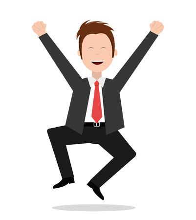 positiveness: Friday design over white background, vector illustration. Illustration