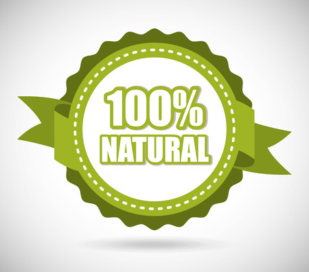 natural product design, vector illustration   Vector