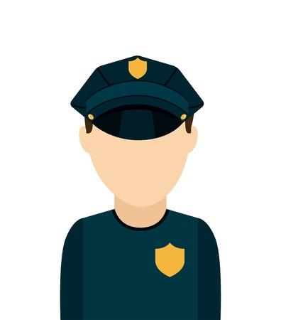 police state: state police design, vector illustration