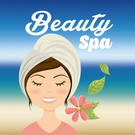 salon and spa: salon spa design, vector illustration