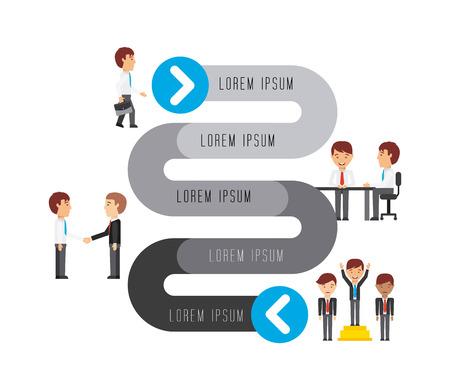 business people design, vector illustration