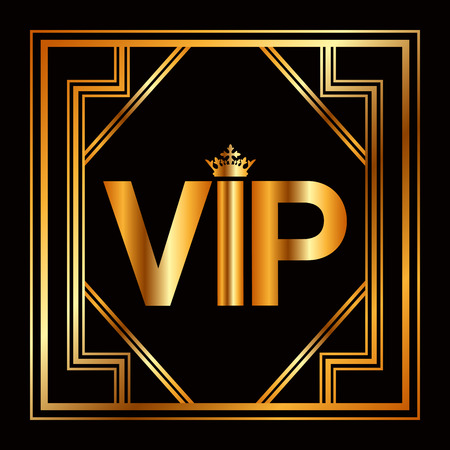 vip design: vip card design, vector illustration Illustration
