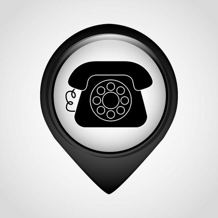 icone office: pointeur bureau icone conception, illustration vectorielle