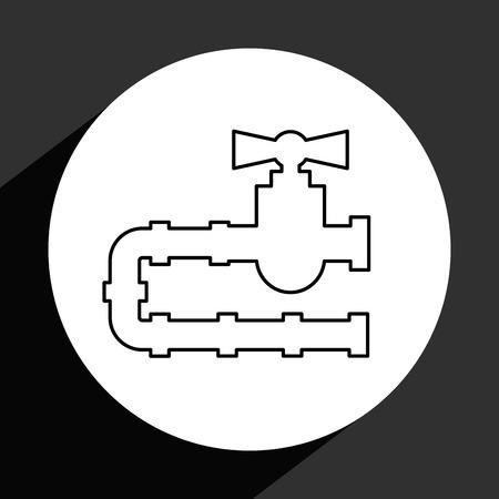 industria petrolera: dise�o de la industria petrolera, ilustraci�n vectorial Vectores