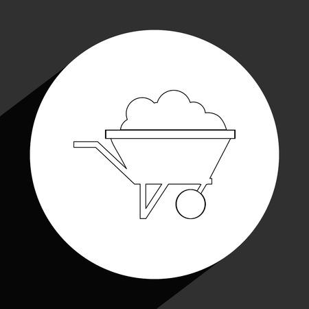 mines: mining industry design, vector illustration