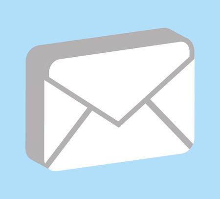 envelope icon: envelope icon design, vector illustration