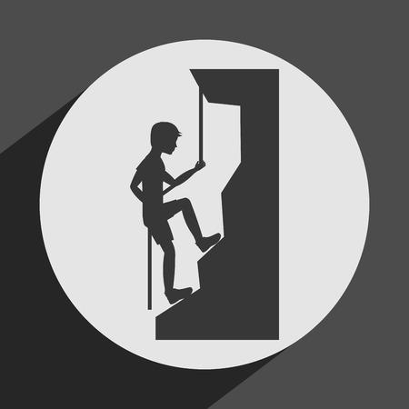 sport icon design, vector illustration