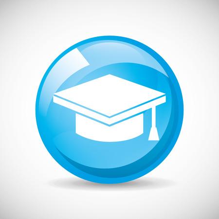 study icon: study  icon design, vector illustration  Vectores