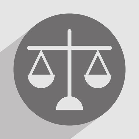 tribunal: justice icon design, vector illustration eps10 graphic