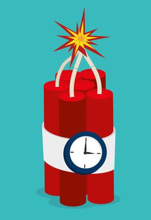 tnt: TNT design over blue background, vector illustration.