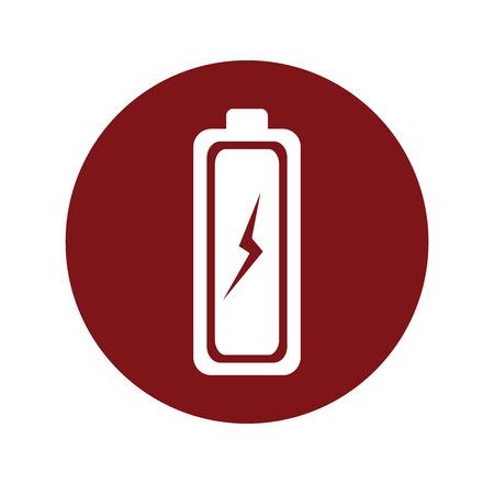 voltmeter: Energy design over white background, vector illustration. Illustration
