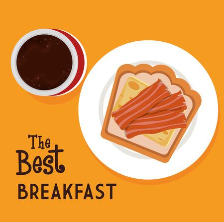 nutriments: Food digital design, vector illustration