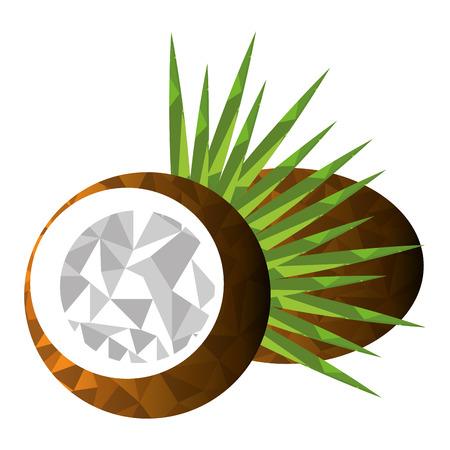 Fruit design over white background, vector illustration. Ilustrace