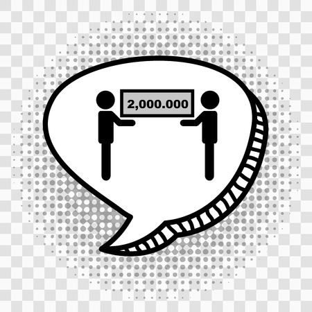 gamers: speech bubble design, vector illustration   Illustration