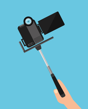 handycam: camera app design, vector illustration eps10 graphic