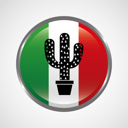 vegetal: mexico icon design, vector illustration eps10 graphic
