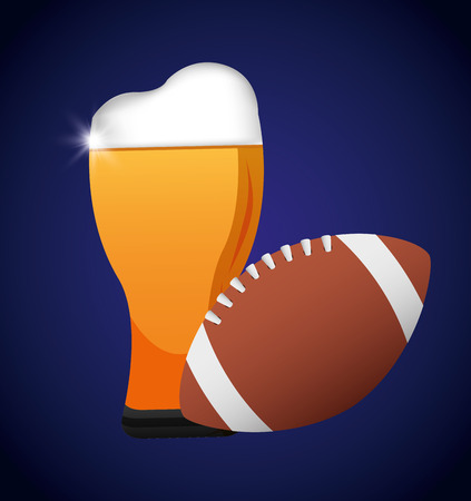 oval  alcohol: american football design, vector illustration eps10 graphic