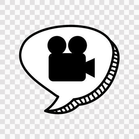 handy cam: film icon design, vector illustration eps10 graphic