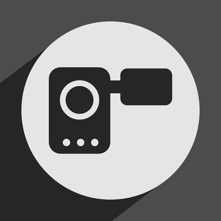 handy cam: camera icon design, vector illustration eps10 graphic