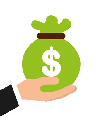 money icon design, vector illustration eps10 graphic Illustration