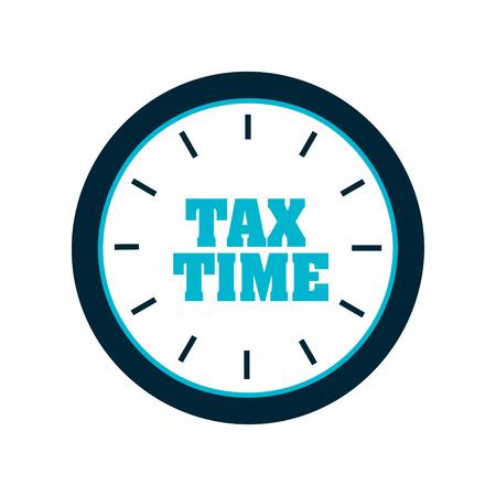 Steuer-Konzept, Vektor-Illustration eps10 Grafik