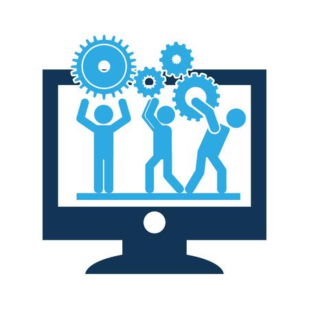 software development design, vector illustration eps10 graphic
