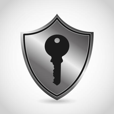 security icon design, vector illustration graphic