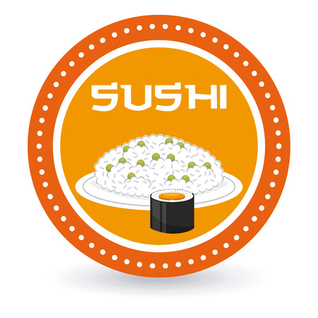 japanese food design, vector illustration graphic Vector