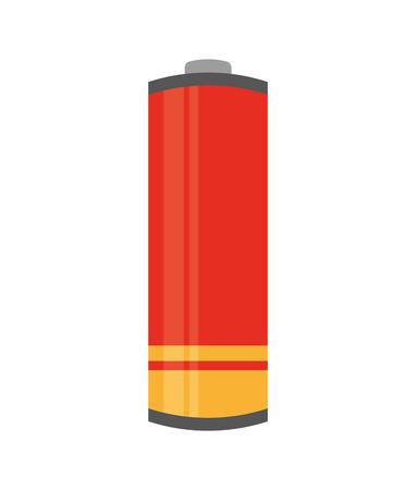 negativity: battery concept design, vector illustration eps10 graphic Illustration