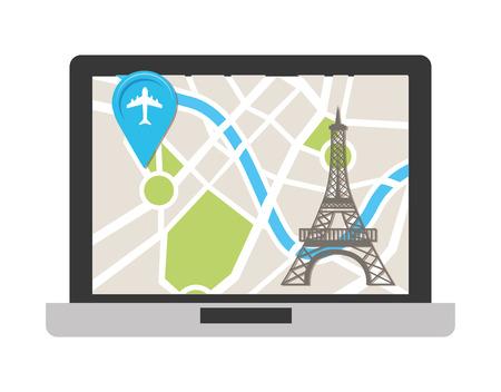 gps device: gps technology design, vector illustration graphic Illustration