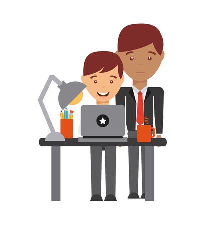 ocupation: business people design, vector illustration eps10 graphic Illustration