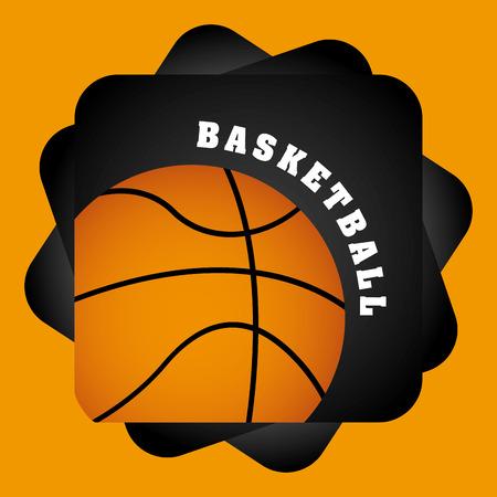 balon baloncesto: basketball sport design, vector illustration eps10 graphic Vectores