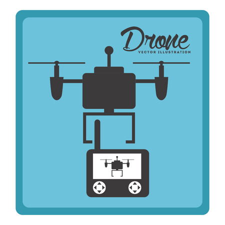 antena: drone technology design, vector illustration