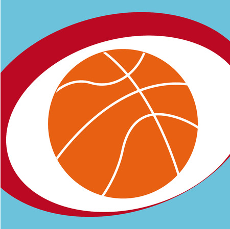 balon baloncesto: basketball sport design, vector illustration Vectores
