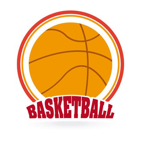 balon baloncesto: basketball sport design, vector illustration Vectores