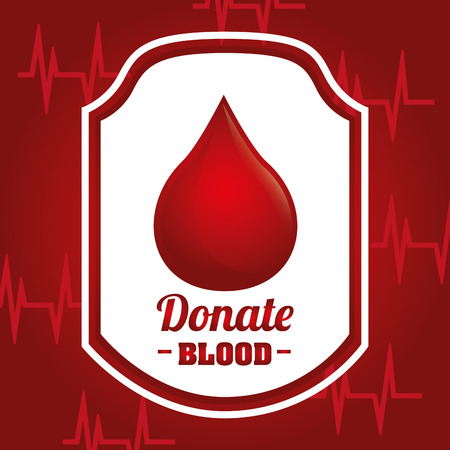 rh: donate blood design, vector illustration eps10 graphic
