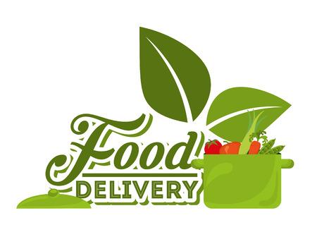 cocking: food delivery design, vector illustration eps10 graphic Illustration