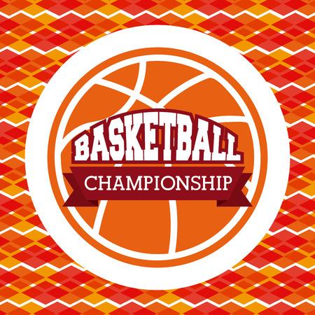 balon baloncesto: basketball sport design, vector illustration