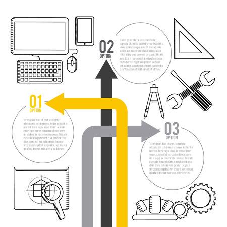 under construction icon: under construction design, vector illustration